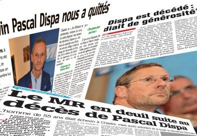 La presse rend hommage à Pascal Dispa