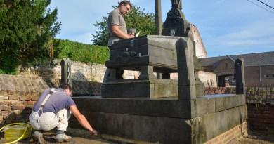 Une sépulture exceptionnelle de Villeroux entièrement rénovée