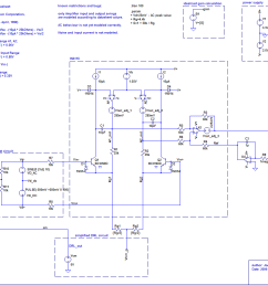 supply voltage operating point and gain is exceeded the amplifier is clipping the signal and works no more linear as required in eeg applications  [ 1051 x 871 Pixel ]