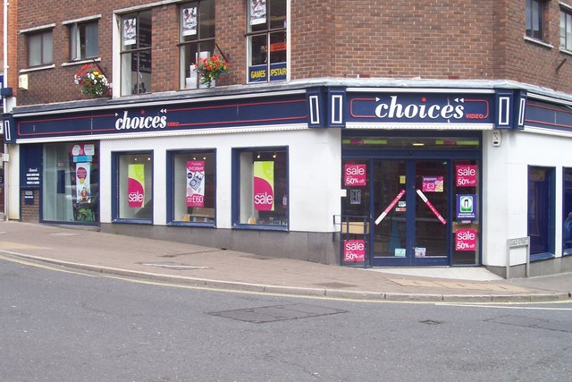 Choices Video Store