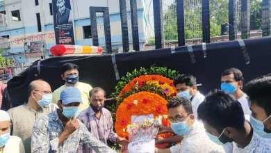 Photo of ভাষা সৈনিক জাহিদ হোসেন মুসাকে ঝিনাইদহ এক্স কাঞ্চননগর এ্যাসোসিয়েশনের শ্রদ্ধা নিবেদন