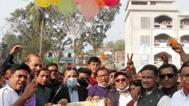 Photo of বারবাজার বঙ্গবন্ধু গোল্ডকাপ ফুটবল টুর্নামেন্ট ফাইনাল খেলা অনুষ্ঠিত
