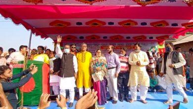 Photo of শৈলকুপায় নৌকার জনসভা অনুষ্ঠিত
