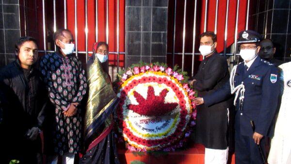 ঝিনাইদহে যথাযোগ্য মর্যাদায় পালিত হচ্ছে আন্তজার্তিক মাতৃভাষা দিবস
