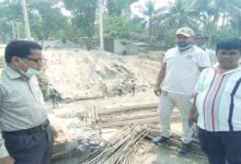 Photo of কোটচাঁদপুর-চৌগাছা বাসষ্ট্যান্ডের খালের উপর বক্স কালভার্ট এর বেজ ঢালাই উদ্বোধন