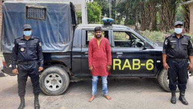 Photo of কালীগঞ্জে ফেন্সিডিলসহ এক মাদক ব্যবসায়ী আটক