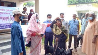 Photo of ঝিনাইদহ কোটচাঁদপুরে ভিক্ষুকদের পাশে সমাজসেবা