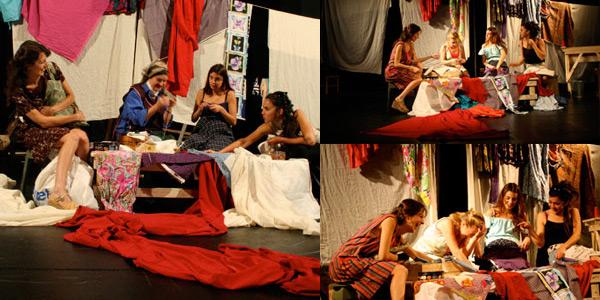 TRES MARAS Y UNA ROSA  Festival Internacional de Teatro Santiago a Mil