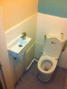 Edinburgh Toilet and Sink Install