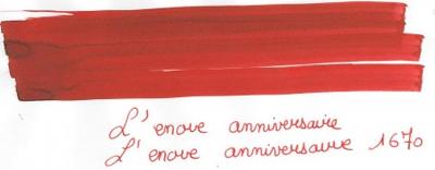 Rouge Hermatite 1670 Anniversary Ink by Herbin