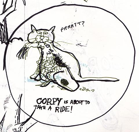 Corpy the Carp