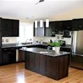Miami wood kitchen cabinets traditional contemporary