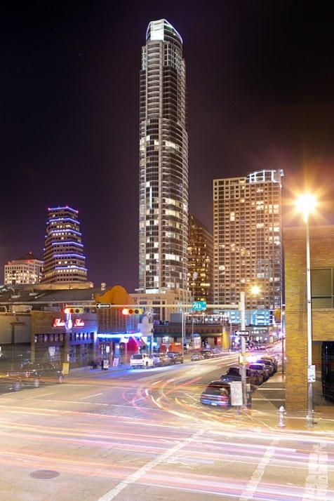 Austonian building in Austin, TX