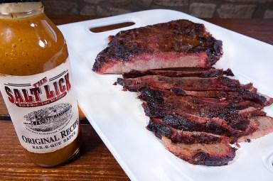 The Salt Lick -Sauce and Brisket