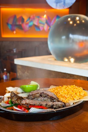 Fajitas at the Iron Cactus Hill Country Galleria