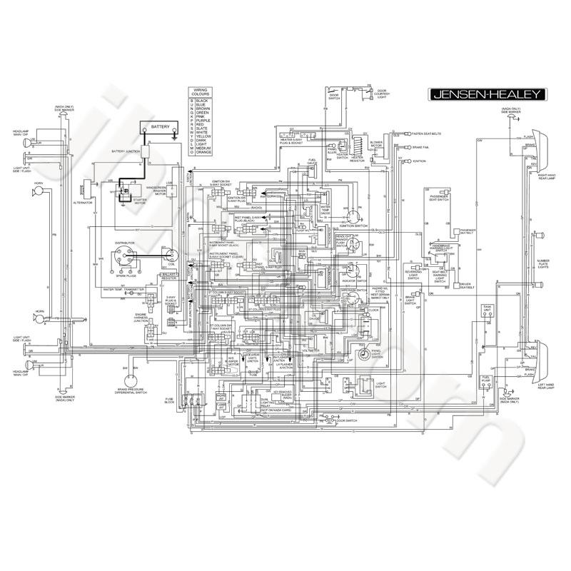 jhps jensen healey wiring diagram