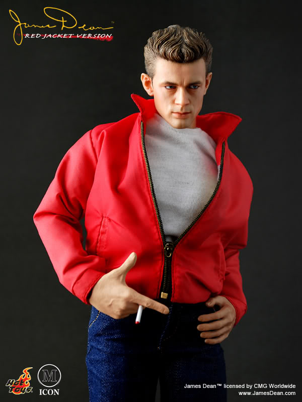 Barbie Doll Wallpaper Hd Hot Toys Mis07 James Dean Red Jacket Ver