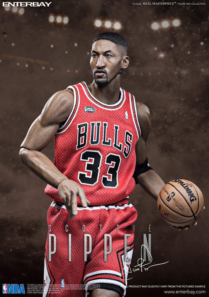 Nba Wallpaper Hd Enterbay Nba Collection Scottie Pippen Chicago Bulls