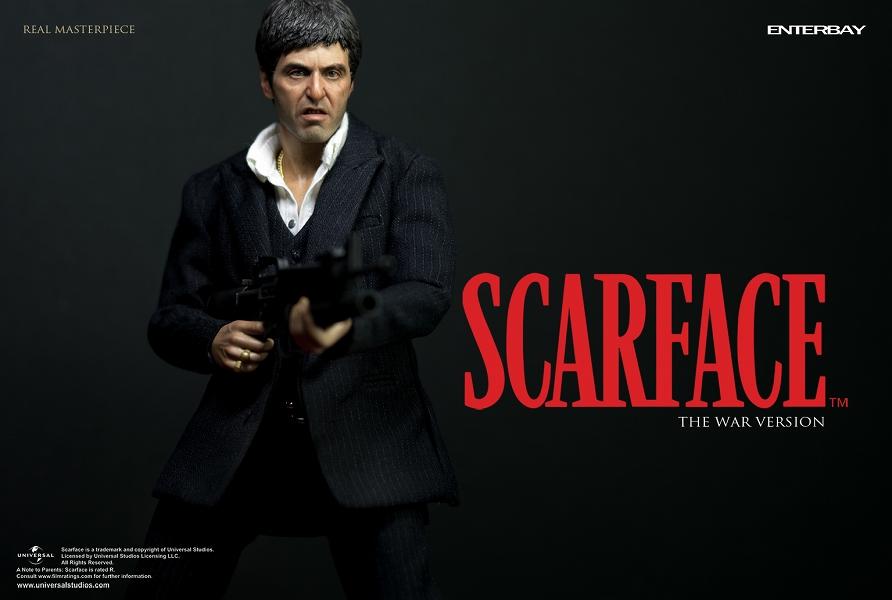 Al Pacino Quotes Wallpaper Enterbay Rm 1033 Scarface Tony Montana The War Ver