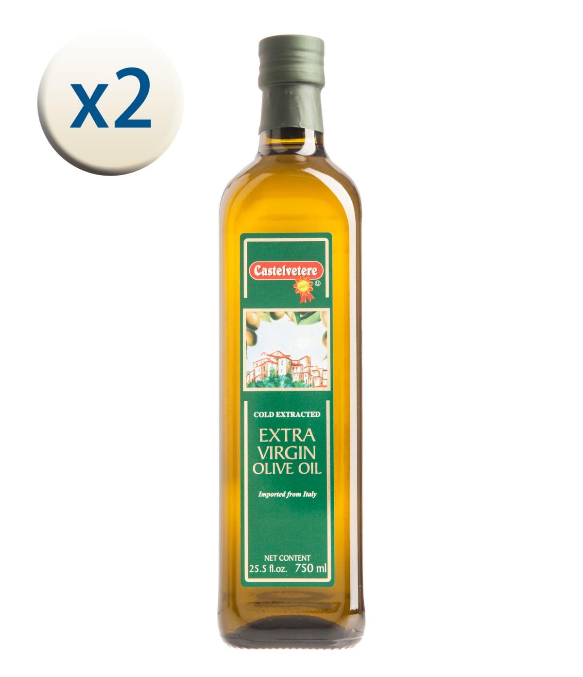 【義大利 永健 中秋禮盒特賣】特級冷壓初榨橄欖油750ML x 2瓶~9/30止
