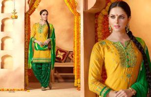 Kessi patiyala house 50 golden jubilee dress material Catalo