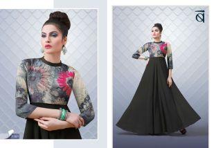 Bansi blush 10 ready made gown catalog