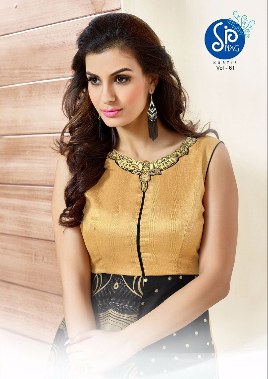 Swarnapankh vol 61 party wear kurtis collection