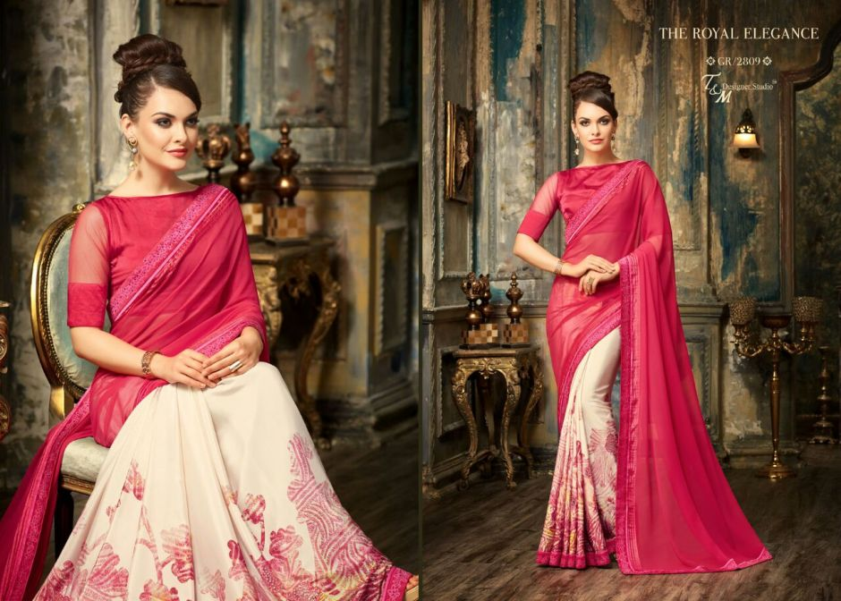 T and m grace 8 Sarees collection wholesale price supplier