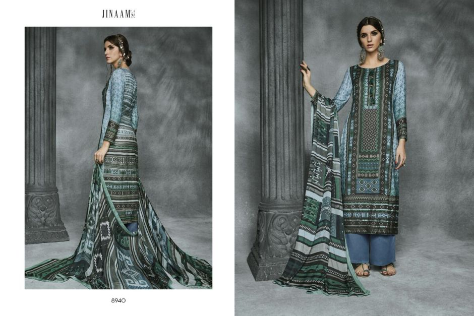 Jinaam dress presents pakistani suits aara catalouge at best price online