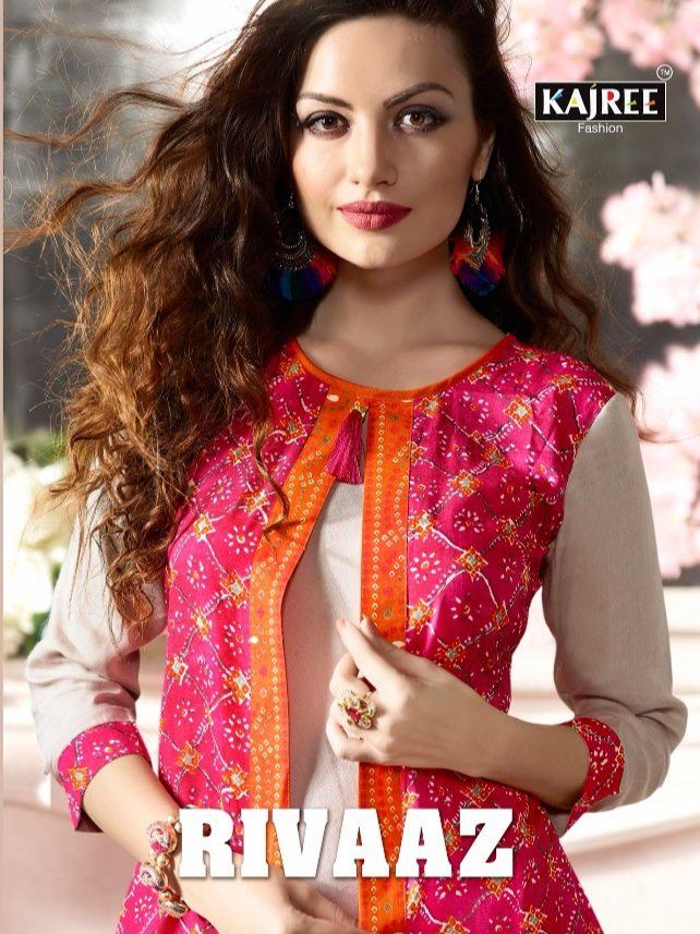 Kajree fashion rivaaz silk designer gowns collection at best rate