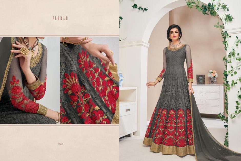 Jinaam dress floral suhana lehanga's collection dealer