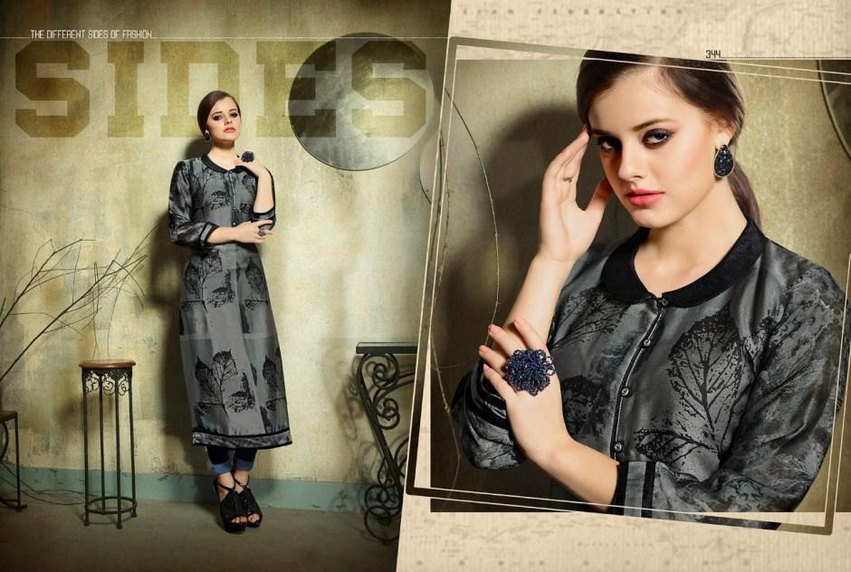Kajree Fashion dark fantasy vol 5 printed Kurties collection