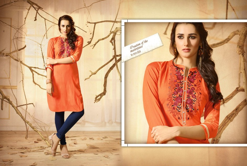 kajree fashion lily vol 8 kurtis catalog online seller