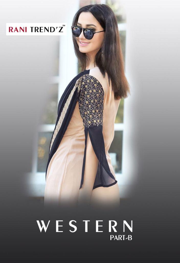 Rani trendz western part -b kurties collection at wholesale rate