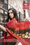 Triveni ambreen 10 printed sarees collection