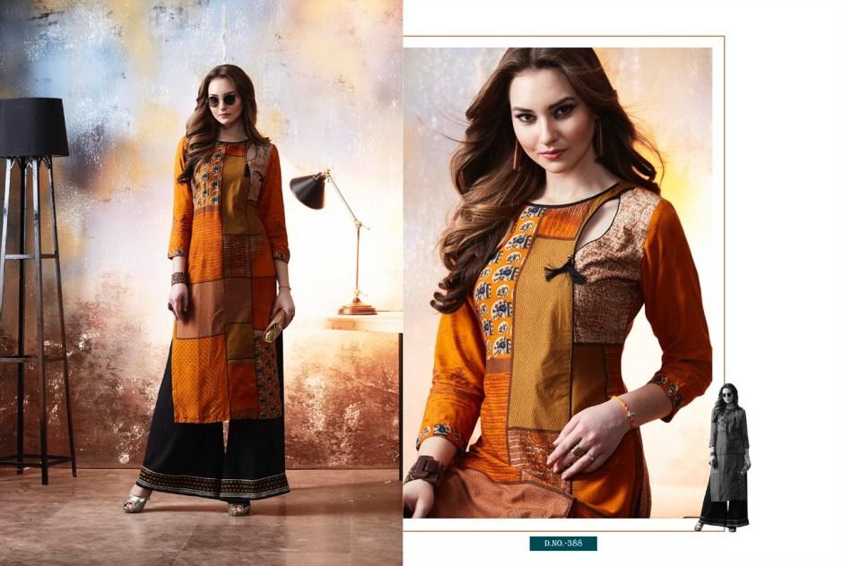 Kajree fashion chambor kurties Catalog Supplier