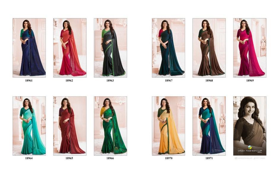 Vinay fashion starwalk 33 sarees Collection Wholesaler