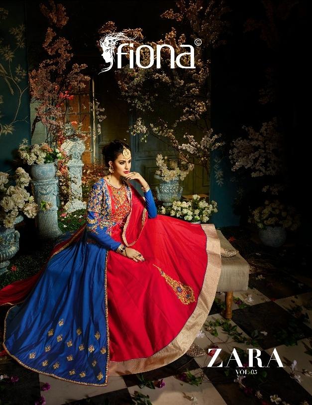 Fiona zara vol 5 heavy lehanga's collection Wholesaler
