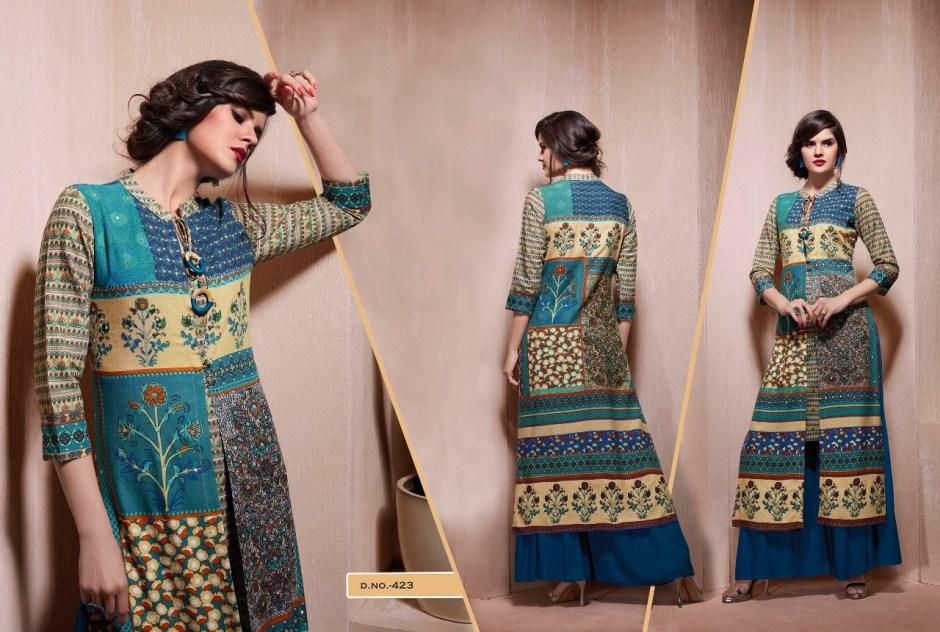 Kajree fashion empire of moghul Kurties catalog