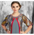 Indicut divine long gown Type Kurties Collection