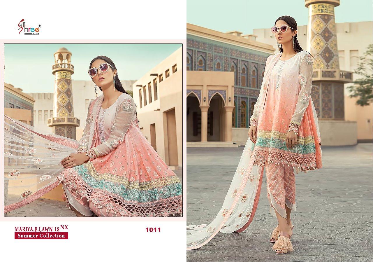 402f68ca1e Shree fabs mariya b lawn 18 nx Salwar Kameez Collection