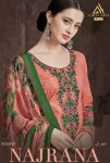 Aarav trendz introduce najrana vol 1 collection of printed with embroidery salwar kameez