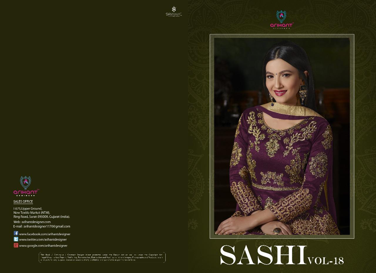 86d11f1c27 Arihant designer presents sashi vol 18 ramzan special Designer collection  of gowns