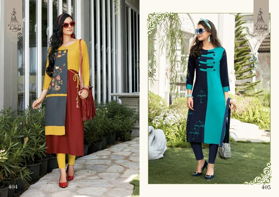 diksha fashion launching siya vol 4 summer wear kurtis collection