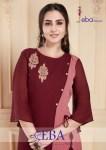 Eba lifestyle presents eba vol 6 exclusive party wear Western kurtis