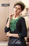 Kajree fashion launch lily vol 9 ethnic Designer wear kurtis