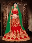 Majestic by sanskar sarees brings indidan wedding style lehenga