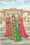 Saroj aza silk sarees Catalog Wholsaler