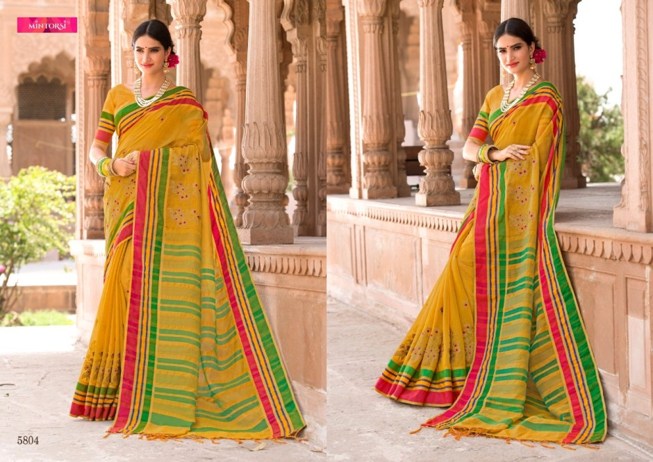 Varsiddhi Launch mintorsi designer banarasi silk sarees collection