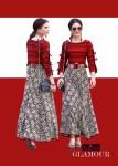 Glamour by ragga presenting western pattern stylish Kurtis concept